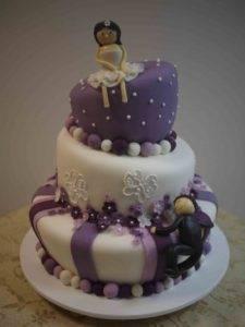 Прикольные свадебные торты