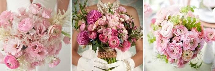 Букет невесты из ранункулюсов