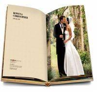Оформление свадебного альбома внутри