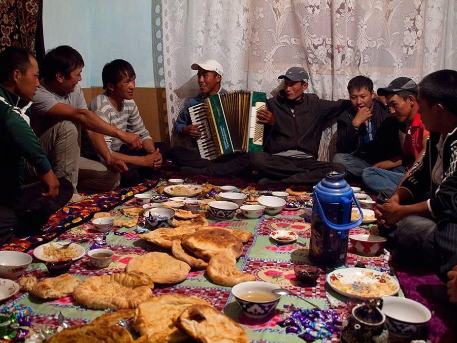 Кыргызская свадьба
