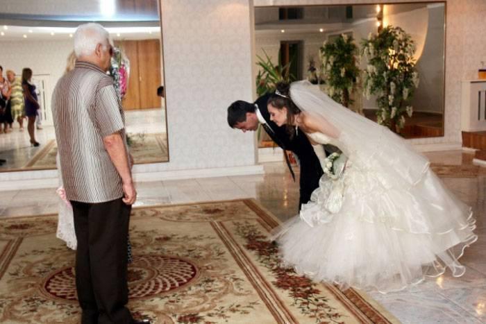 Поздравление от невесты родителям