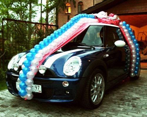 Украшение машин на свадьбу своими руками фото 2