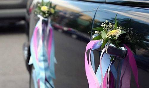 Украшение машин на свадьбу своими руками фото 5