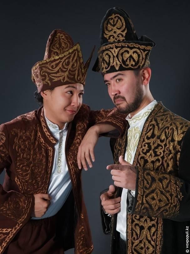 Казахские национальные платья в современном стиле фото