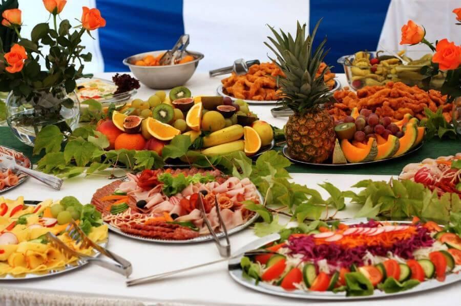 Что приготовить на свадьбу на стол