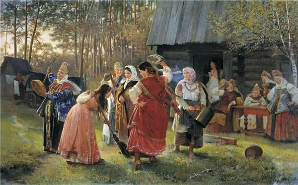 Традиции девичника