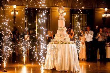 Кремовые свадебные торты
