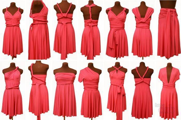 Платье со съемной юбкой платье трансформер