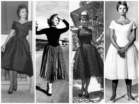 Платье в стиле диор