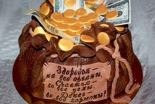 Торт из купюр мастер класс