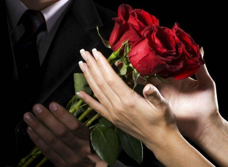 Романтичное предложение