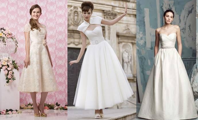Свадебное платье в стиле стиляг