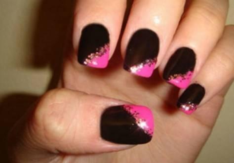 Розово черный