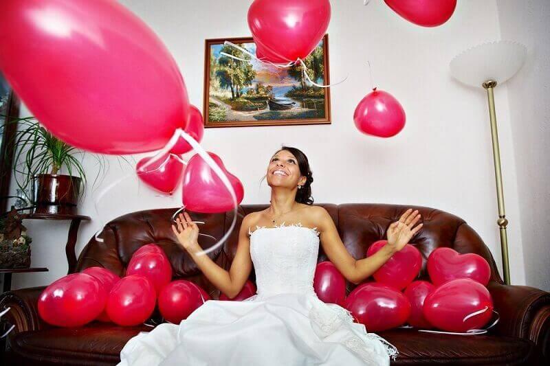 Невеста в шарах