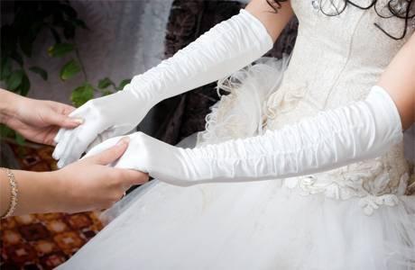 как украсить руки невесты