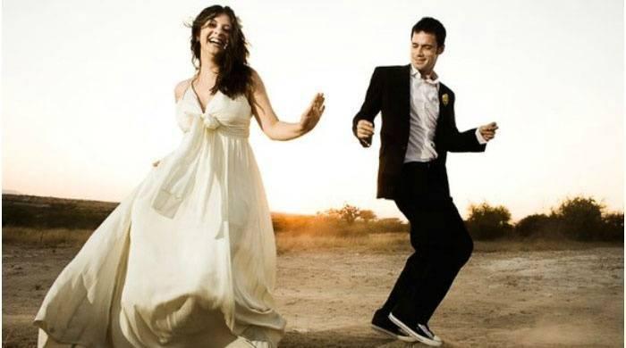 Медленный танец для молодоженов