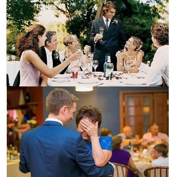 Слова родителям на свадьбе от молодоженов