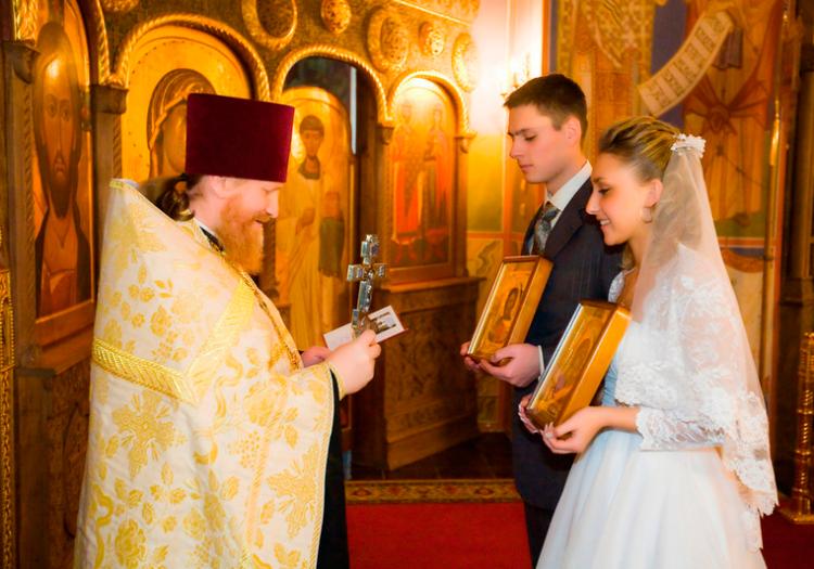Процедура венчания в православной церкви