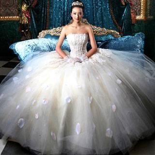 Свадебные платья как у принцессы