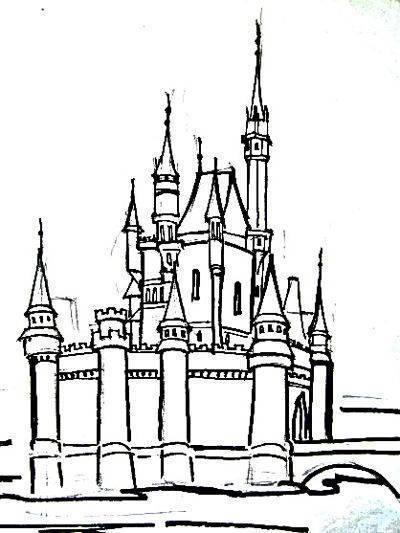 Как разукрасить замок