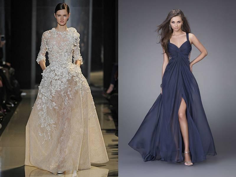 Строгое свадебное платье