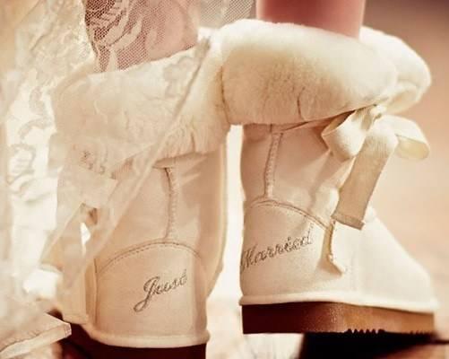 Свадебные полусапожки для невесты