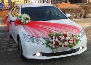 Банты на машину на свадьбу