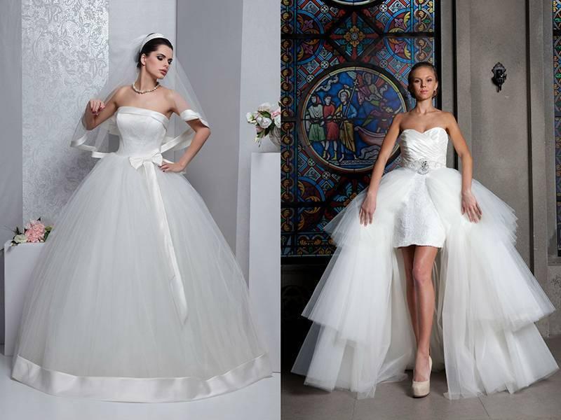 Свадебные платья для низких девушек фото