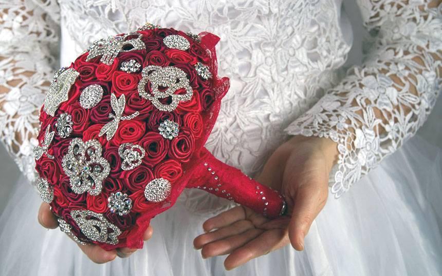 Цветы для свадебного букета названия