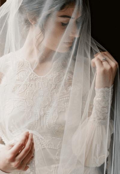 Подвенечное платье для венчания фото