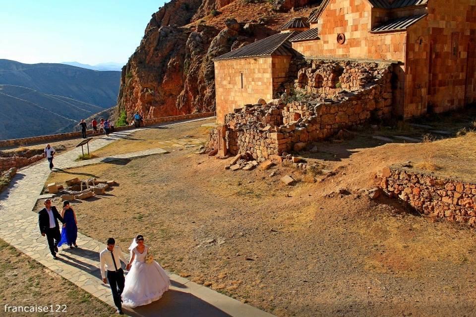 Армянские обычаи на свадьбе