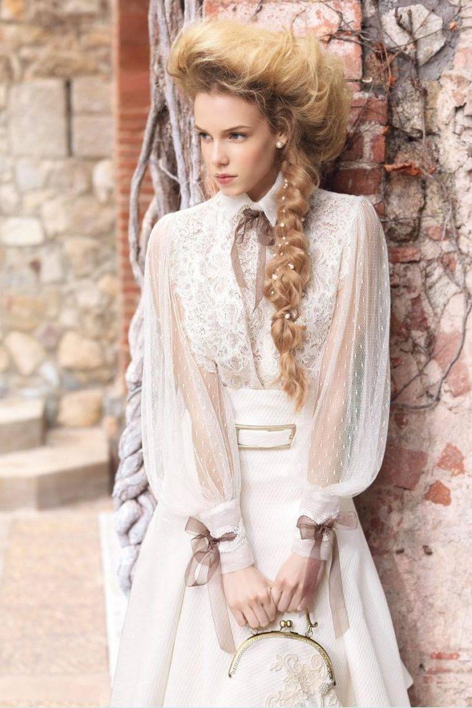 Винтажные свадебные платья фото