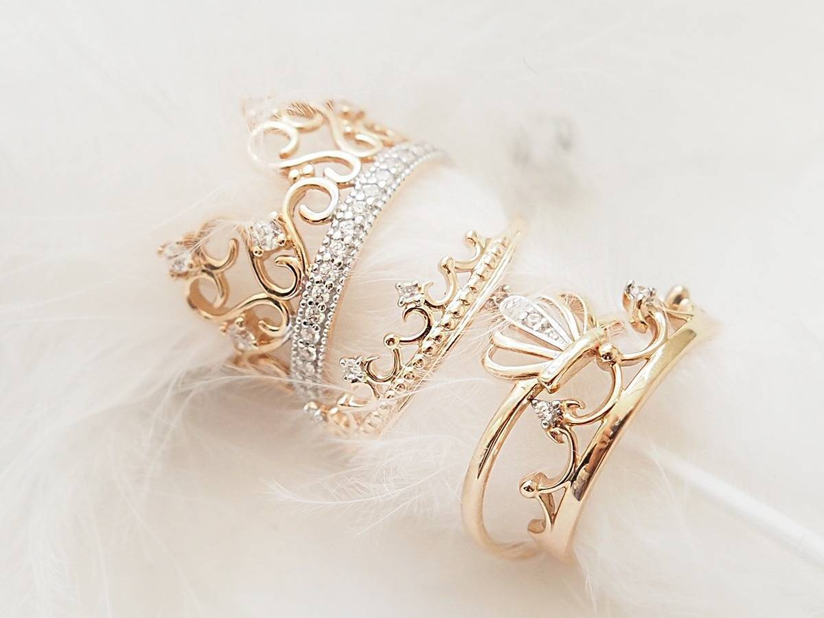 Как носить кольцо корону фото