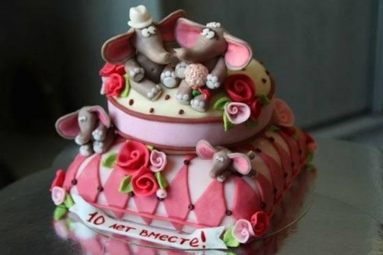 Торт 5 лет вместе