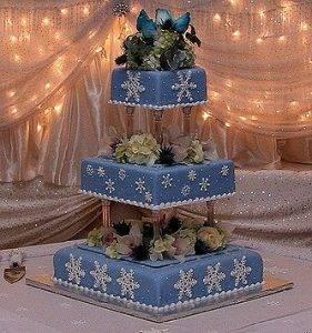 Свадьба в стиле новый год