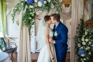 Свадьба в цвете аквамарин фото
